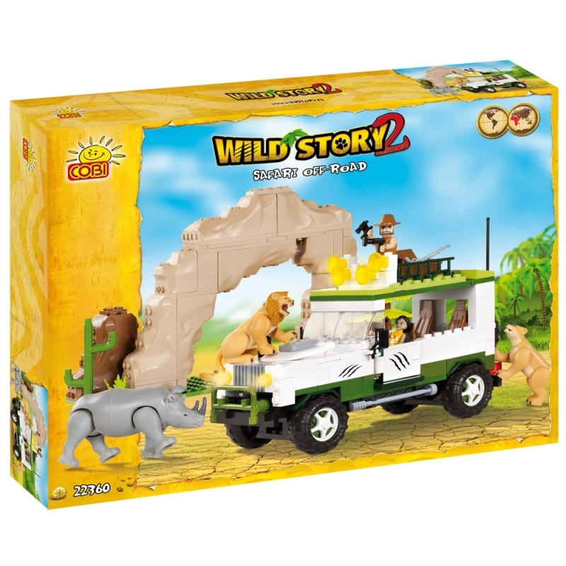 Cobi Wild Story jeep set