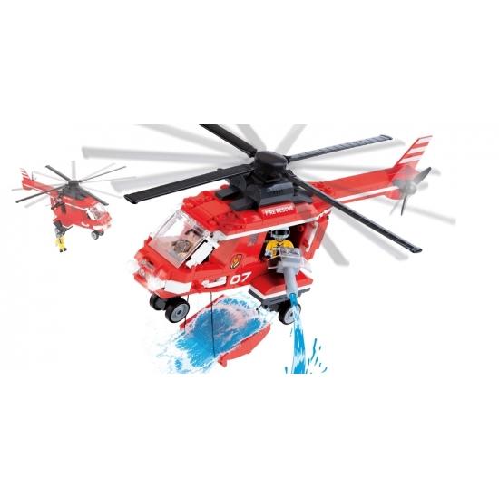 Cobi brandweer helikopter set
