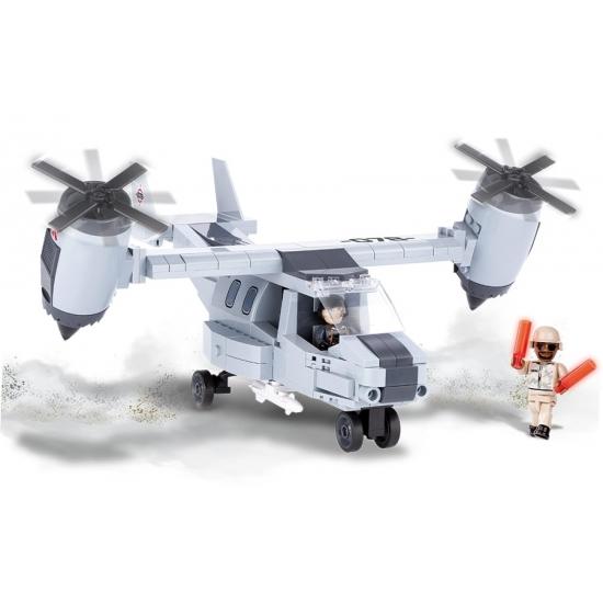 Cobi leger votl vliegtuig set