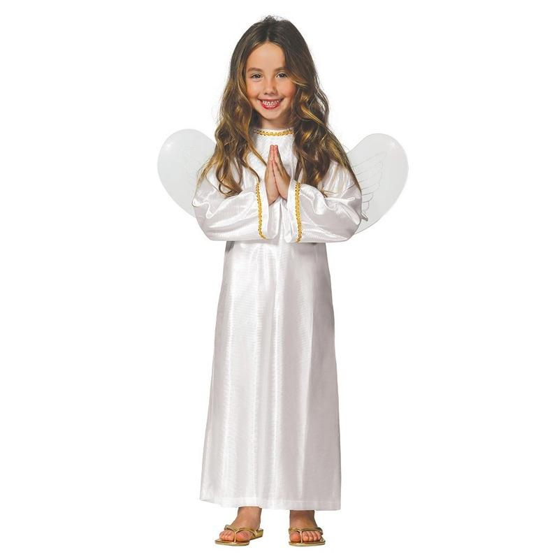 Kerst engel Ariel verkleed kostuum/jurk voor meisjes
