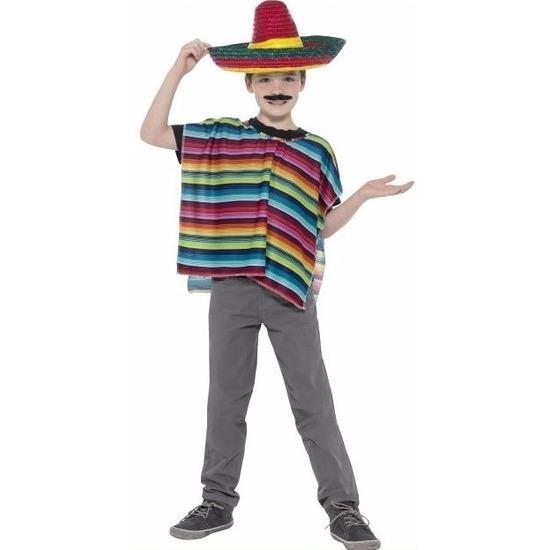 Kleurige Mexico sombrero voor jongens
