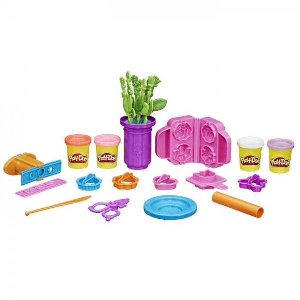 Playdoh Gardener Role play