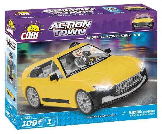 Cobi Action Town bouwpakket Sports Car Convertible GTS 109 delig 1804