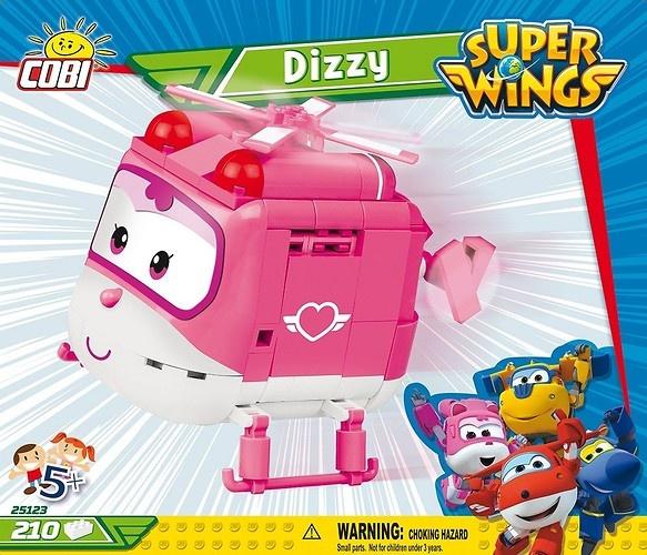Cobi Super Wings bouwpakket Dizzy roze/wit 210 delig (25123)