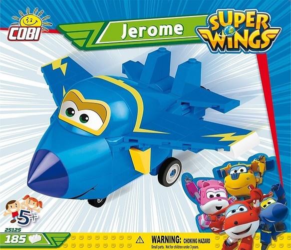 Cobi Super Wings bouwpakket Jerome blauw 185 delig (25125)