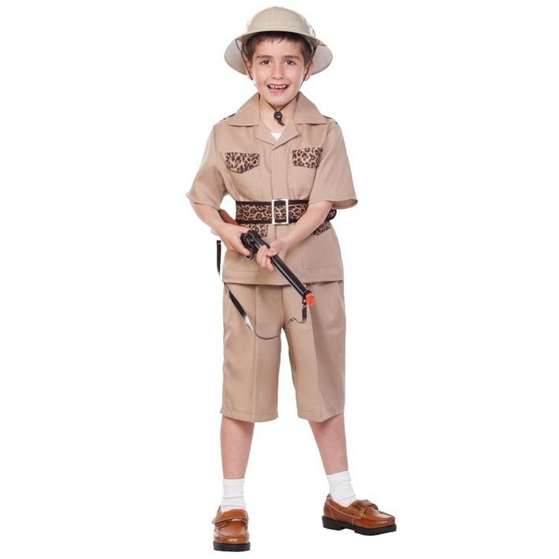 Ontdekkingsreiziger outfit voor kinderen