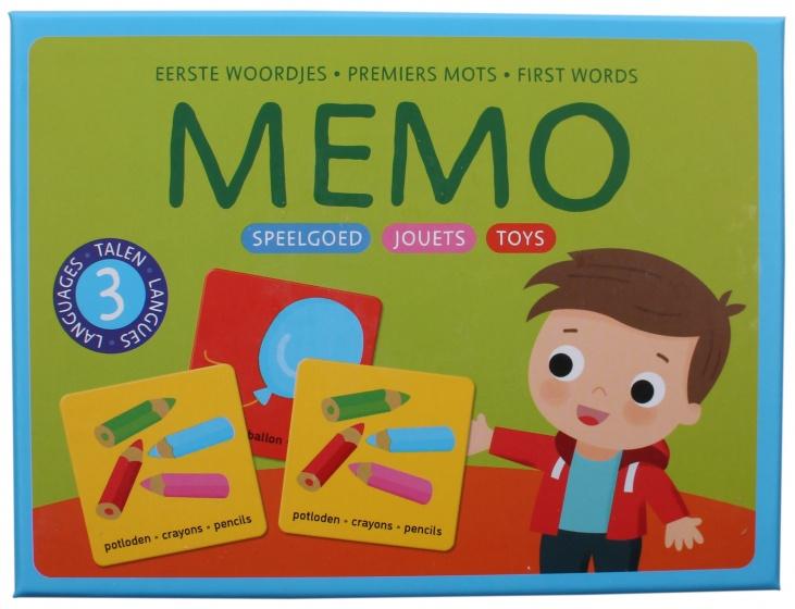 Deltas Memo Eerste woordjes Speelgoed