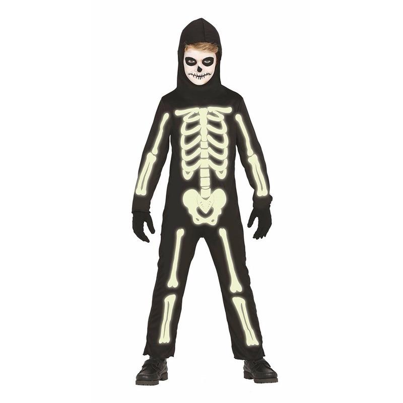 Glow in the dark skelettenpakken voor kids