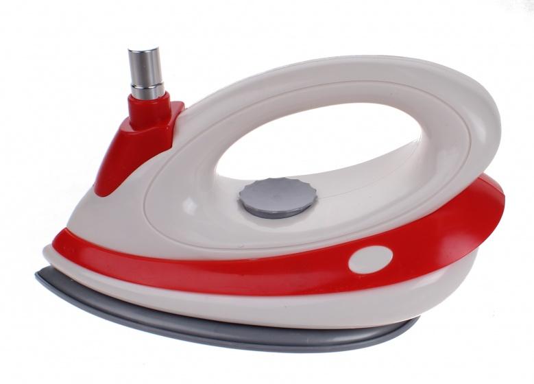 Luna speelgoed strijkijzer junior rood/wit 16 cm