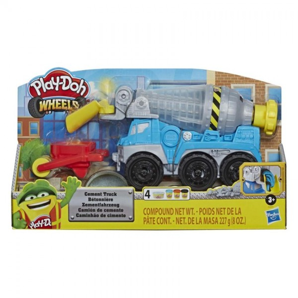 Play Doh Wheels Cement Mixer