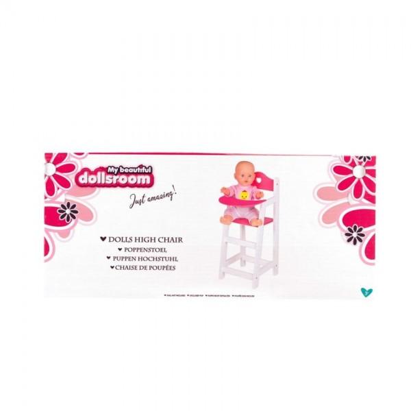 Poppenmeubel Poppenstoel 22x27x53cm