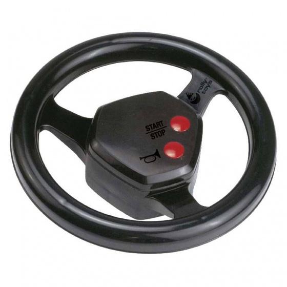 Rolly Toys stuur met geluid zwart 20 cm