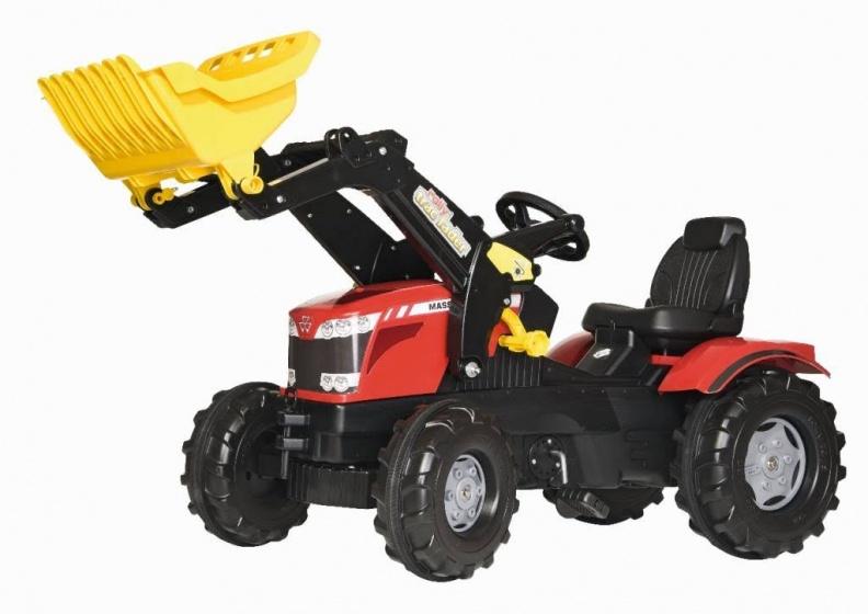 Rolly Toys traptractor RollyFarmtrac MF 8650 rood/zwart