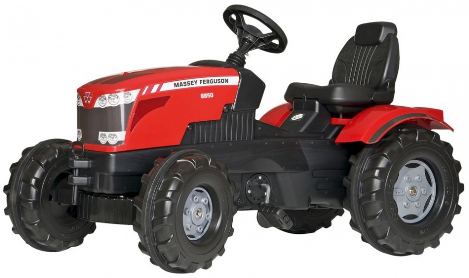 Rolly Toys traptractor RollyFarmtrac MF8650 rood/zwart