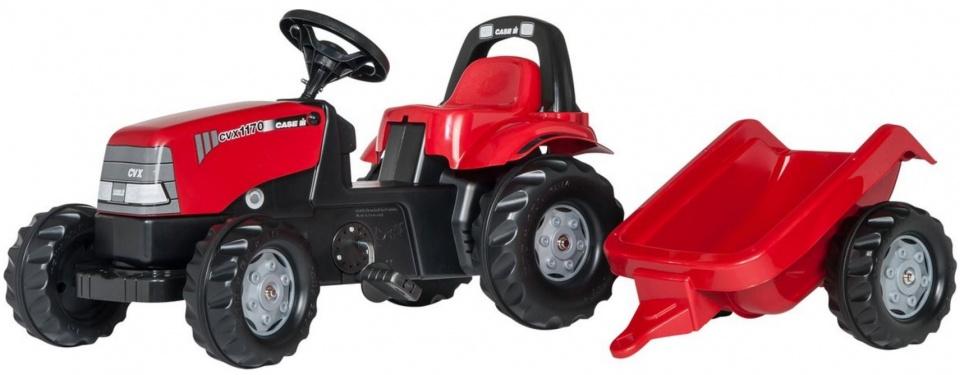 Rolly Toys traptractor RollyKid Case 1170 CVX junior rood