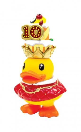 B.Duck spaarpot eend geel koning 16 cm