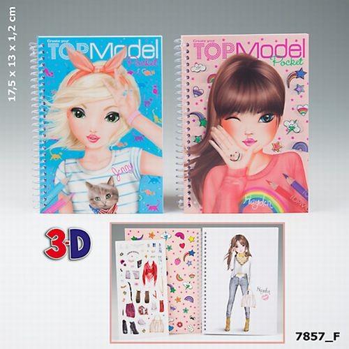 TOPModel Pocket Kleurboek 3D