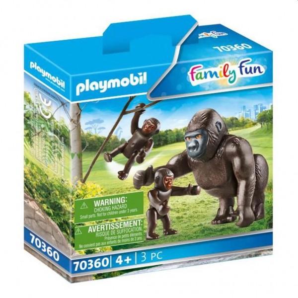 70360 Playmobil Gorilla met Baby's