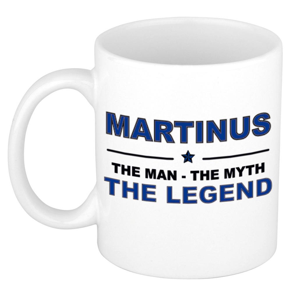 Martinus The man, The myth the legend pensioen cadeau mok/beker 300 ml