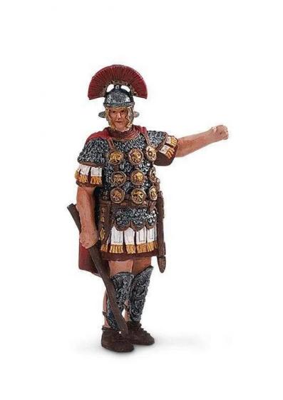 Safari Romeinse centurio junior 5 cm rubber