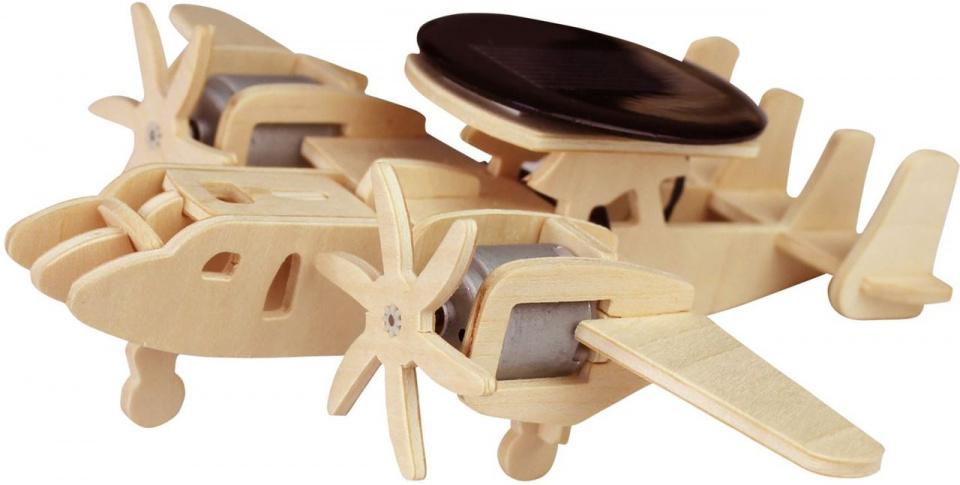 Robotime 3D modelbouw Airborne P330 16 x 19 cm hout 21 delig