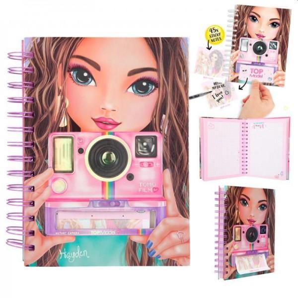Topmodel Notitieboek met Selfie Notes Candy Cake