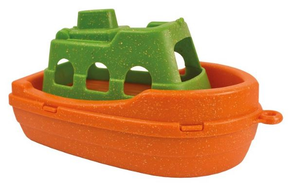 Anbac Toys veerboot Anbac junior 16 x 9,5 x 9,5 cm oranje/groen