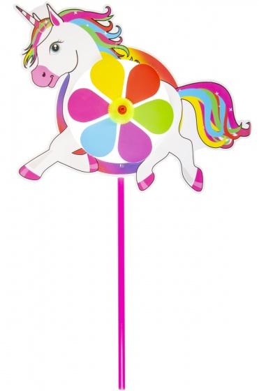 LG Imports windmolen eenhoorn 30 cm roze