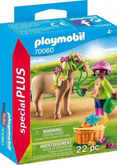 PLAYMOBIL Special Plus Meisje met pony (70060)