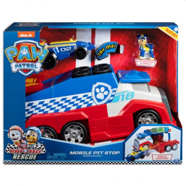 Paw Patrol Race Mobile Pit Stop Vehicle