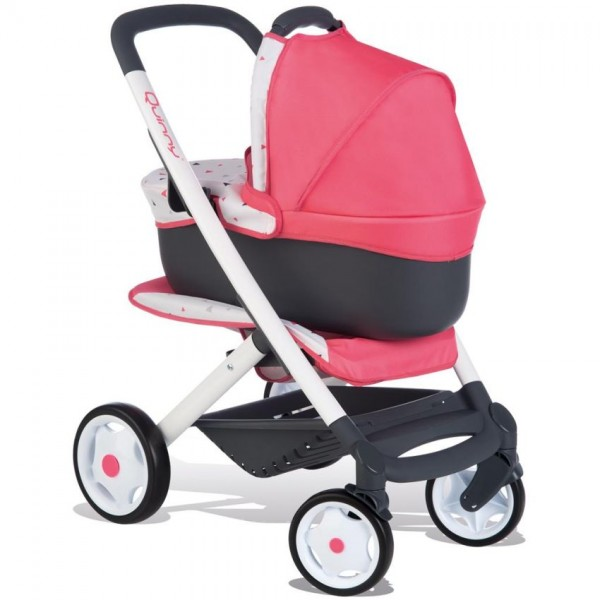 Smoby Quinny Poppenwagen 3in1