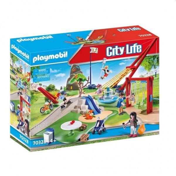 70328 Playmobil Speelpark Compleet met Accessoires