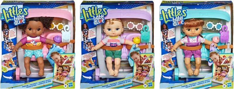Baby Alive Littles Roll 'n' Kick Stroller