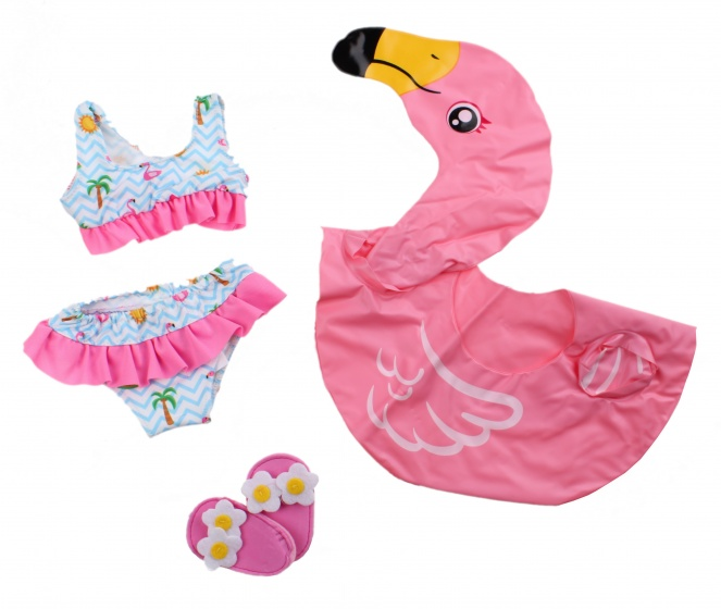 Heless Flamingo zwemset poppen roze 35 45 cm
