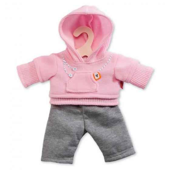 Heless poppenkleding joggingpak roze 35 45 cm