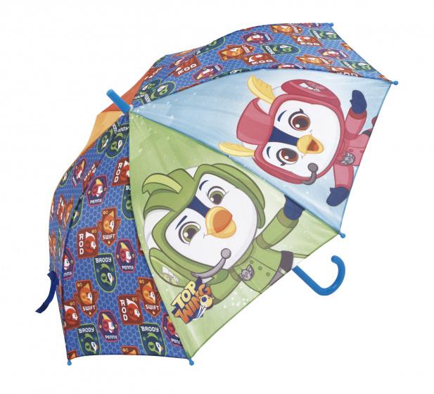 Nickelodeon paraplu Top Wing junior 48 cm blauw