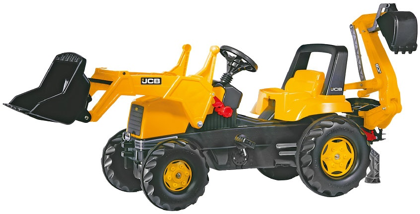 Rolly Toys traptractor RollyJunior JCB geel