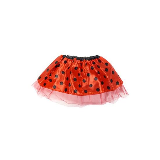 Meisjes lieveheersbeestje tutu rokje rood