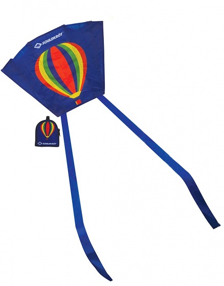 Schildkröt Funsports mini vlieger luchtballon 45 cm polyester 2 delig