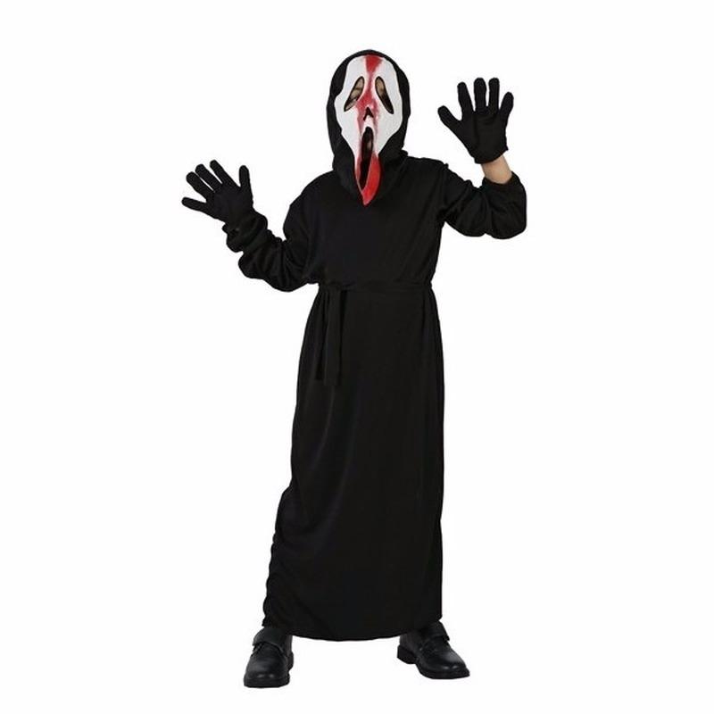 Verkleedset schreeuwend spook voor kinderen