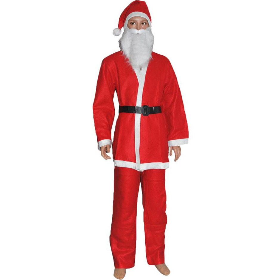 Budget Kerstman verkleed kostuum voor kinderen
