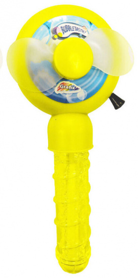 Grafix bellenblaas 2 in 1 Bubble junior geel
