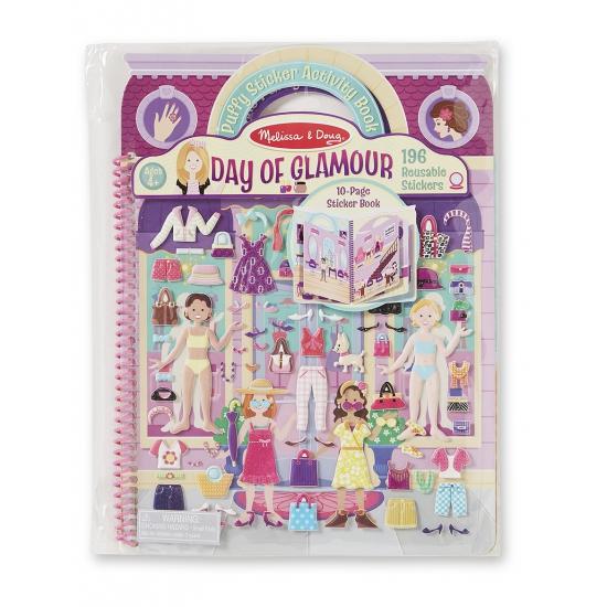 Speelboek met glamour girls thema