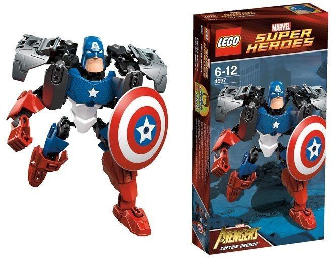 4597 Lego Captain America