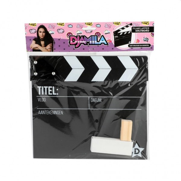 Meisje Djamila Filmklapper