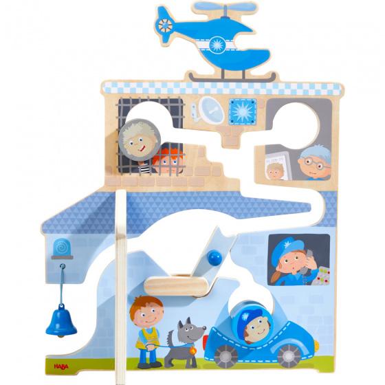 Haba motoriekspel In Actie junior 40 x 32 cm hout blauw/rood