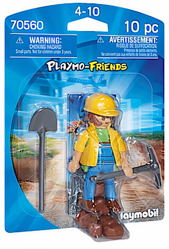 PLAYMOBIL Playmo Friends Bouwvakker (70560)