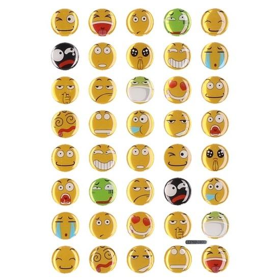 40x Emotie stickers