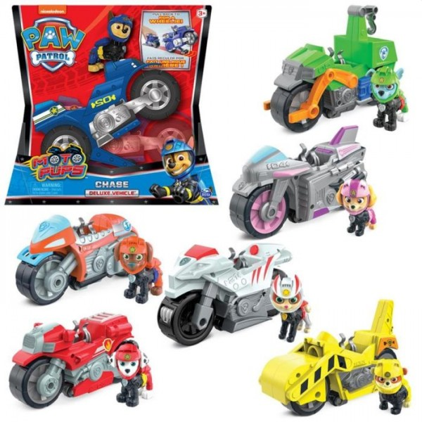 Paw Patrol Moto themed Vehicles Assortiment