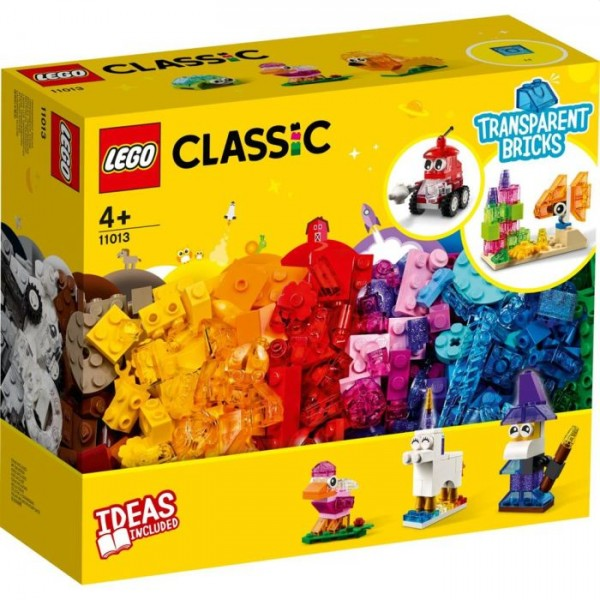 11013 LEGO Classic Creative Transparant Bricks